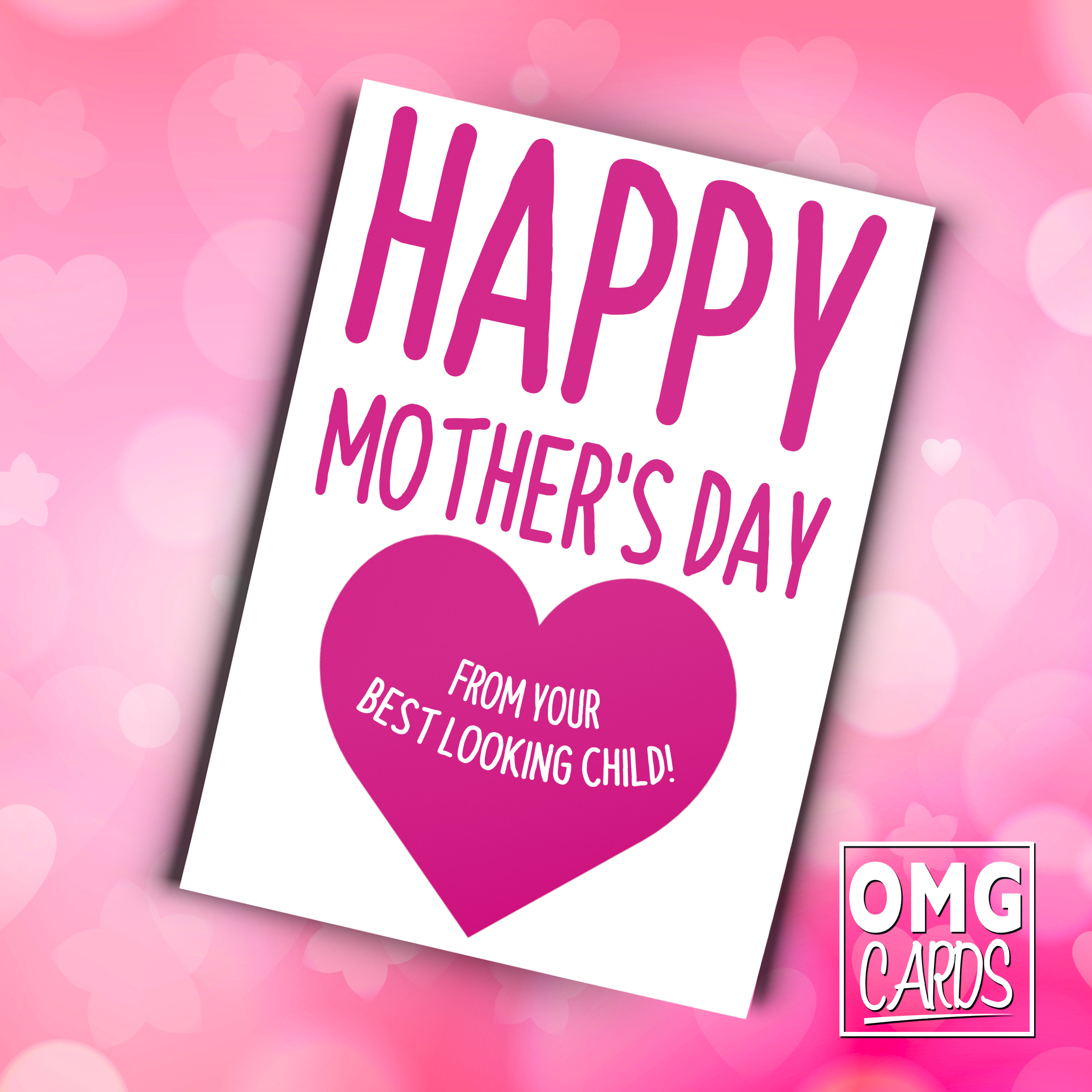 Happy mothers day from your best looking child funny mothers day happy mothers day from your best looking child funny mothers day card m4hsunfo